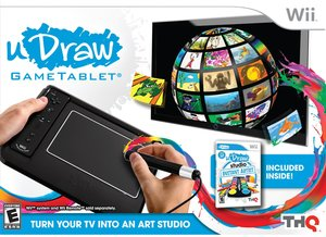 uDraw GameTablet with uDraw Studio (Wii)