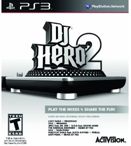 DJ Hero 2 Game Stand-Alone Software (PS3)