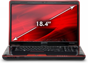 Toshiba Qosmio X505-Q8102X Core i7-2630QM 2nd Gen, 1.5GB GeForce GTX 460M, Blu-ray