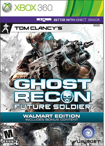 Tom Clancy's Ghost Recon Future Soldier (Xbox 360) - Pre-owned