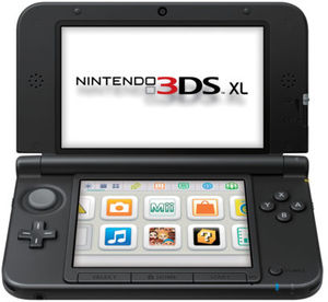 Nintendo 3DS XL (Red - Refurbished)