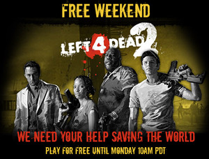 Left 4 Dead 2 - Free to Play World until 10/29