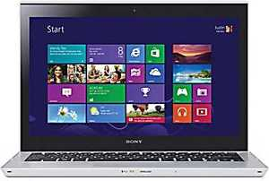 Sony Vaio T Series SVT13124CXS Touch Screen Ivy Bridge Core i3-3217U, 4GB RAM