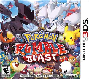 Pokemon Rumble Blast (Nintendo 3DS) - Pre-owned