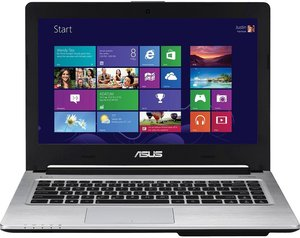 Asus S405CA-RH51 Ultrabook Core i5-3317U, 6GB RAM, 750GB HDD + 24GB SSD (Refurbished)