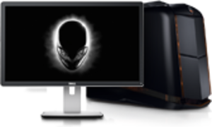 Alienware Aurora Quad Core i7-4820K, GeForce GTX Titan Z 12GB + 24-inch Monitor