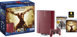 PS3 Super Slim 500GB God of War Ascension Legacy Bundle with God of War Saga