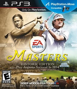 Tiger Woods PGA Tour 14: Masters Historic Edition (PS3)
