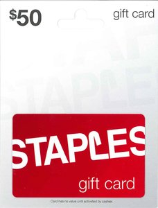 $50 Staples Gift Card