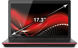Toshiba Qosmio X70-ABT2G22 Quad Core i7-4700MQ (4th Gen), 3GB GeForce GTX 770M, 1080p display