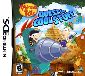 Phineas and Ferb Quest for Cool Stuff (Nintendo DS)
