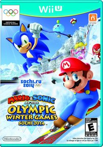 Mario & Sonic at the Olympic Winter Games 2014 + Wii Remote Plus (Wii U)