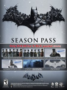 Batman Arkham Origins: Season Pass (PC Download)