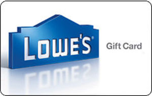 $100 Lowe's Gift Card + Bonus $15 Code (Email Delivery)