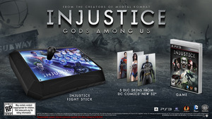 Injustice: Gods Among Us Battle Edition with Fight Stick (PS3)