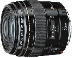 Canon EF 85mm f/1.8 USM Lens (Refurbished)