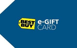 $150 Best Buy eGift Card + $15 Savings Code (Email Delivery)