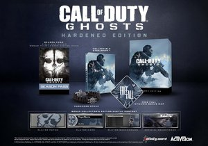 Call of Duty: Ghosts Hardened Edition (PS4)