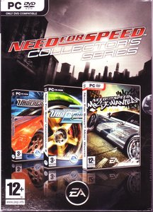 Need for Speed Collectors Series (Underground 1, 2 and Most Wanted)