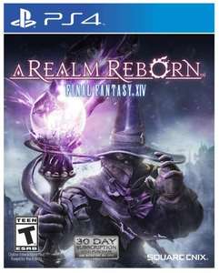 Final Fantasy XIV: A Realm Reborn (PS4 - Digital Code)