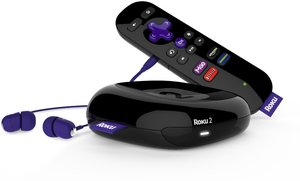 Roku 2 (2013) 1080p Streaming Player (Refurbished)