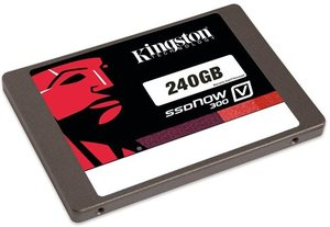 "Kingston V300 SSD Laptop Upgrade Kit 2.5"" 240GB SV300S3N7A/240G"
