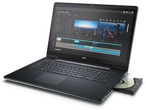 Dell Inspiron 17 5000 Series, Core i5-6200U, 8GB RAM, 1TB HDD