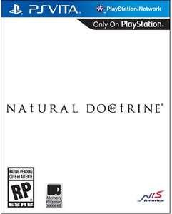 NAtURAL DOCtRINE (PS Vita) + $5 Gift Card