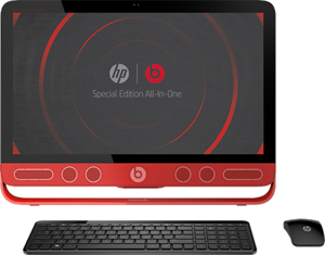 HP ENVY 23xt Beats Special Edition All-in-One Desktop Core i7-4785T, 12GB RAM