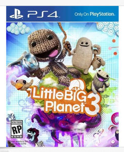 Little Big Planet 3 (PS4 Download) - PS Plus Required