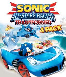 Sonic and All-Stars Racing Transformed - 4 Pack (PC Download)