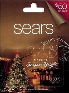 $50 Sears Gift Card