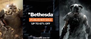Green Man Gaming: Bethesda Easter Sale