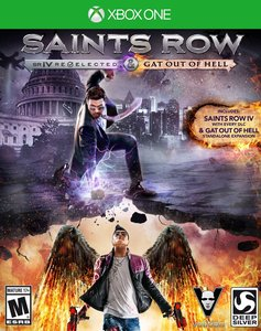 Saints Row IV: Re-elected and Gat Out Of Hell (Xbox One - Pre-owned)