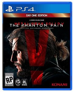 Metal Gear Solid V: The Phantom Pain (PS4 - Pre-owned)