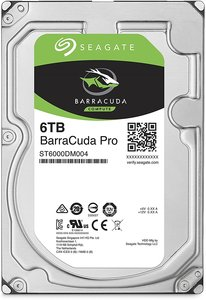 Seagate BarraCuda Pro 6TB Hard Drive ST6000DM004