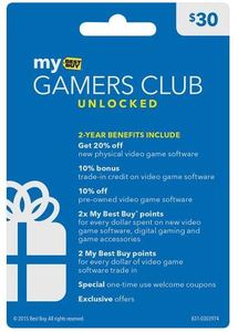 Gamers Club Unlocked Membership (Digital Instant Sign-Up)