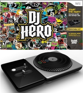 DJ Hero Bundle with Turntable (Wii)