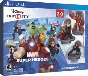 Disney Infinity: Marvel Super Heroes 2.0 Starter Pack Collector's Edition (PS4)