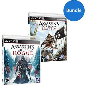 Assassin's Creed 4: Black Flag + Assassin's Creed Rogue (PS3)