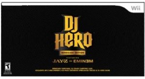 DJ Hero Renegade Edition Turntable Bundle featuring Jay-Z and Eminem (Wii)