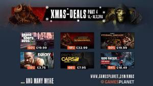 GamesPlanet Xmas-Deals