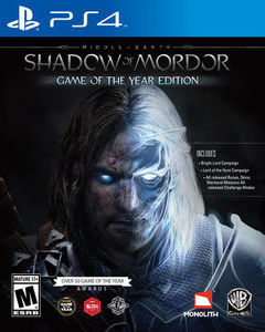 Middle-Earth: Shadow of Mordor GOTY (PS4 Download)