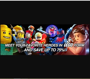 GamersGate: LEGO Midweek Sale