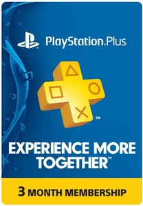 PlayStation Plus 3-Month Subscription Card