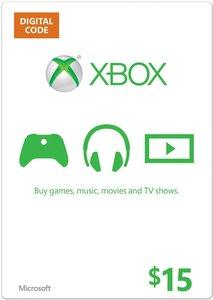 $15 Xbox Gift Card (Digital Code)