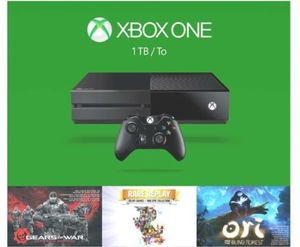 Xbox One 1TB Holiday Bundle + Madden 17 + Rainbow Siege