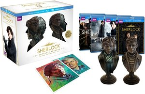 Sherlock: Complete Seasons 1-3 (Limited Edition Blu-ray/DVD)