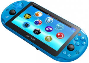 PlayStation Vita Slim WiFi (Aqua Blue - Refurbished)