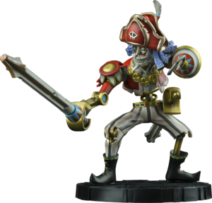 Legend of Zelda: Skyward Sword Scervo Statue